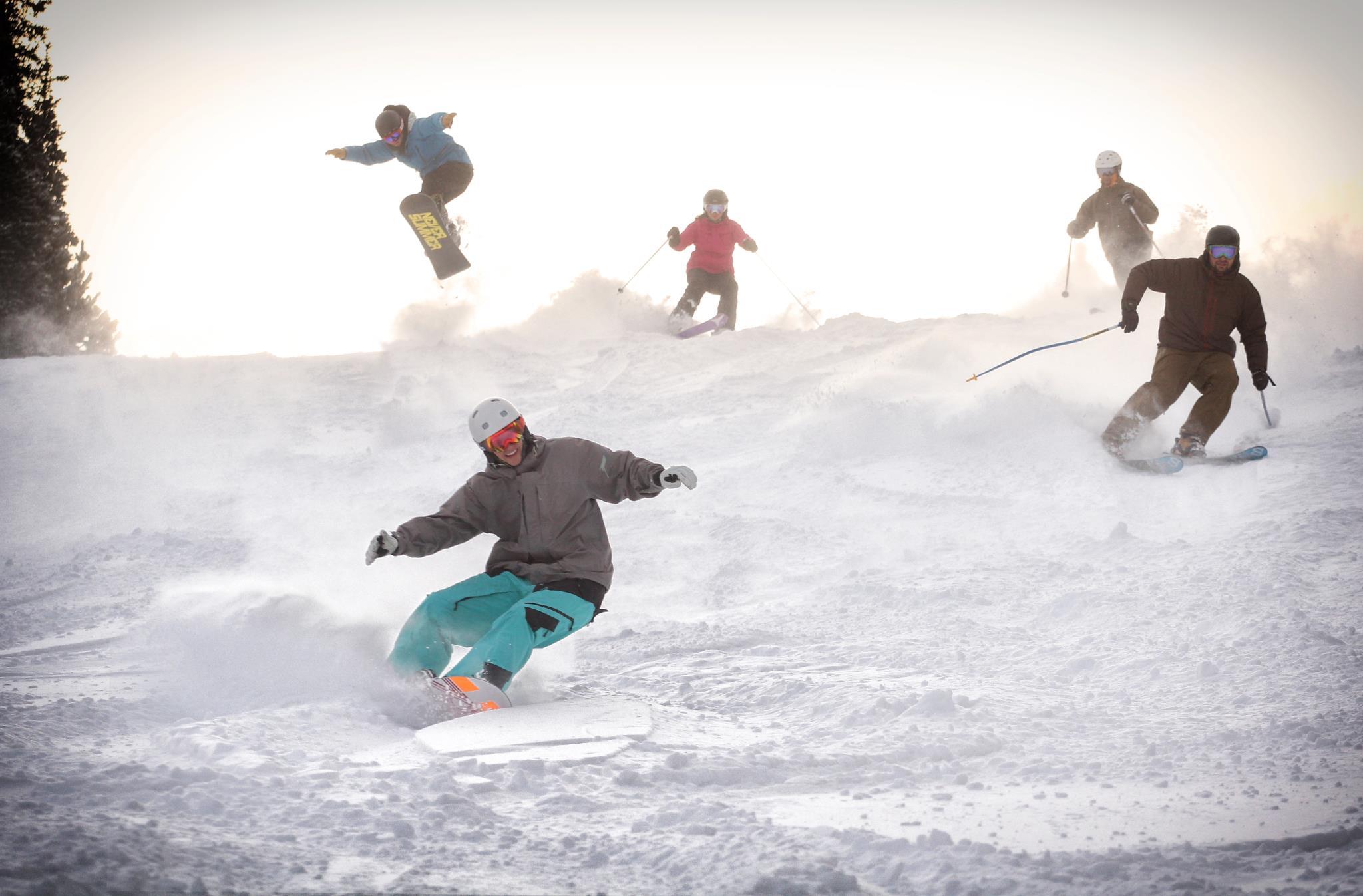 Snowboarders At Copper Mountain Credit Tripp Fay Copper
